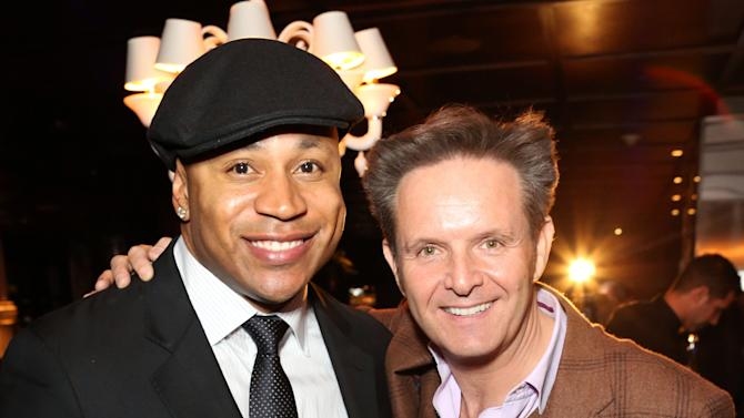 LL Cool J, left, and Mark Burnett attend Hennessy Black: A Dinner with LL Cool J and Mark Burnett Celebrating Music's Biggest Night Out, on Sat., Feb., 9, 2013 in Los Angeles. (Photo by Casey Rodgers/Invision for Hennessy/AP Images)