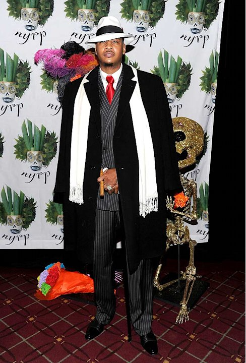 Carmelo Anthony Halloween