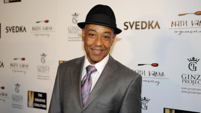Giancarlo Esposito arrives at the Creative Coalition Night Before Dinner on Sunday, Jan. 20, 2013, in Washington. (Photo by Nick Wass/Invision/AP)