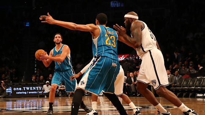 NBA: New Orleans Hornets at Brooklyn Nets