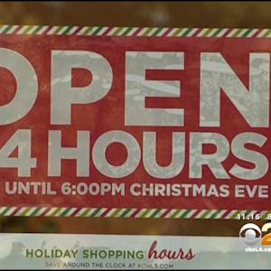 Shoppers His SoCal Stores For Last-Minute Gifts