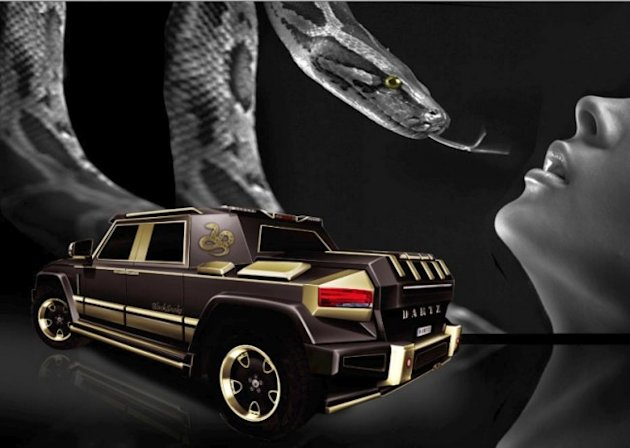 > A $1 million luxury vehicle designed for China's year of the snake - Photo posted in Whipz 'n Stereos (vehicles, sound systems) | Sign in and leave a comment below!