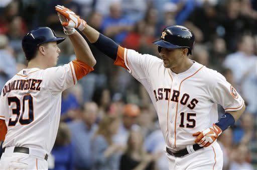 Colon strong in return, A's beat Astros 6-3