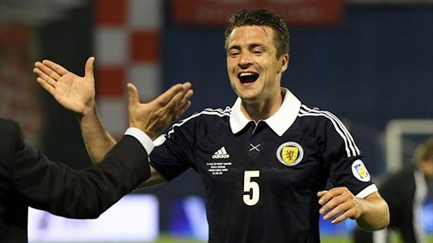 Russell Martin was on fine form in defence for Scotland against Croatia