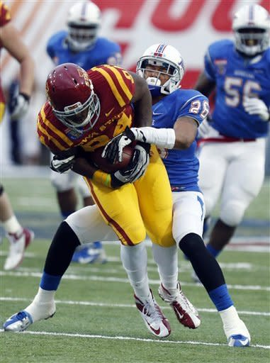 Tulsa beats Iowa State 31-17 in Liberty Bowl