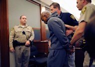 Boxer Floyd Mayweather Jr. is lead away in handcuffs at the Clark County Regional Justice Center as he surrenders to serve a three-month jail sentence on June 1 in Las Vegas, Nevada. Mayweather&#39;s attorneys have asked the fighter to be allowed to spend the remainder of his domestic battery sentence at home or the undefeated fighter might never climb in the ring again