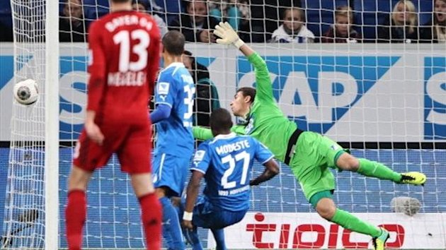 A controversial goal that never was put Bayer Leverkusen top of the Bundesliga with a 2-1 win at Hoffenheim