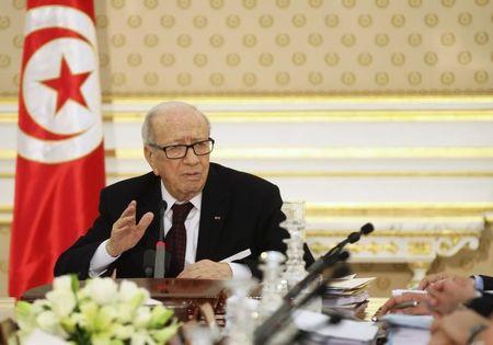 Tunisia's president criticised over party crisis intervention