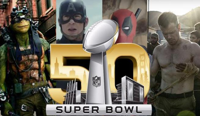 Super Bowl 50 Movie Trailers: All The Trailers In One Spot