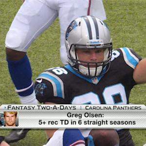 'NFL Fantasy Live': Carolina Panthers fantasy Two-A-Days