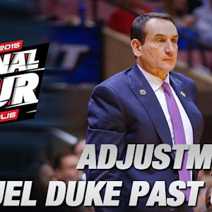 Coach K Proud of His Guys After Sweet 16 Victory vs Utah | ACC Road to Indy