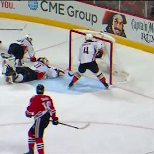 Vermette fires 2OT winner past Andersen in Game 4