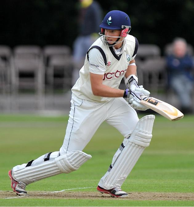 Joe Root is enjoying an impressive debut for England