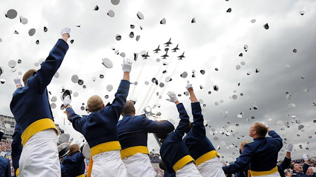 Air Force Academy Graduates First Openly Gay Cadets (ABC News)