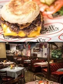 New York Marriott Downtown Welcomes Bill's Bar & Burger Restaurant