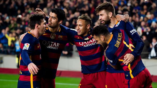 Messi, Suarez and Neymar rested for Copa second leg