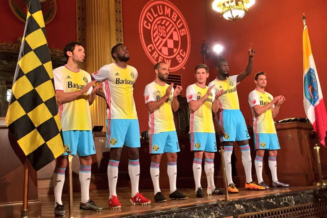 The Columbus Crew's new uniforms make them look like Minions