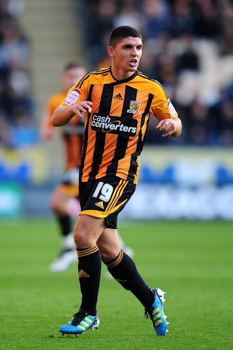 Hull defender Joe Dudgeon has been struggling with a knee injury of late