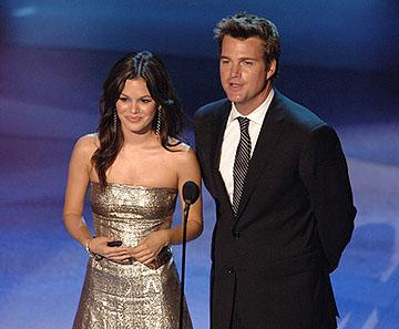 Rachel Bilson and Chris O'Donnell Emmy Awards - 9/18/2005