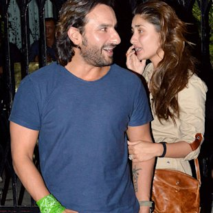 Spotted: Saif and Kareena cosy up in public