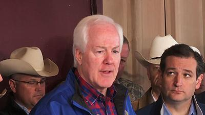 Sen. Cornyn: Blast Site in Search and Recovery