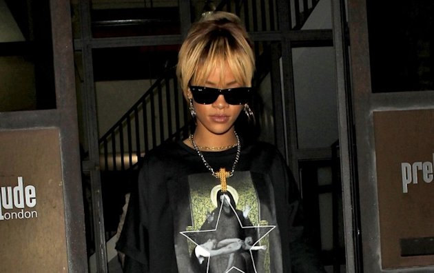 Rihanna : Crpage de chiffons