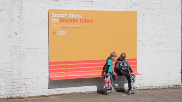 ibm billboard