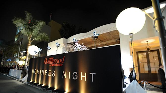 A general view of atmosphere at The Hollywood Reporter Nominees' Night at Spago on Monday, Feb. 4, 2013, in Beverly Hills, Calif. (Photo by John Shearer/Invision for The Hollywood Reporter/AP Images)