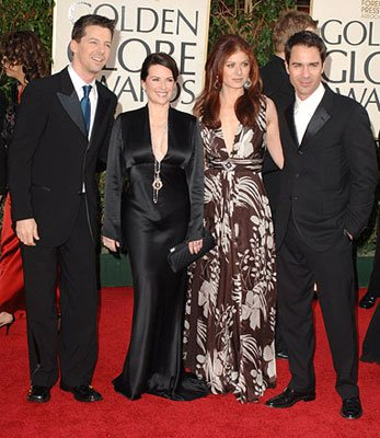 Sean Hayes, Megan Mullally, Debra Messing and Eric McCormack