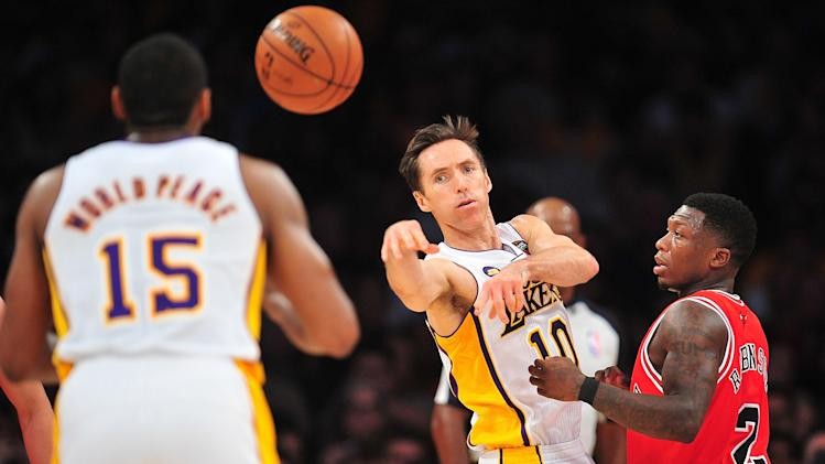 NBA: Chicago Bulls at Los Angeles Lakers