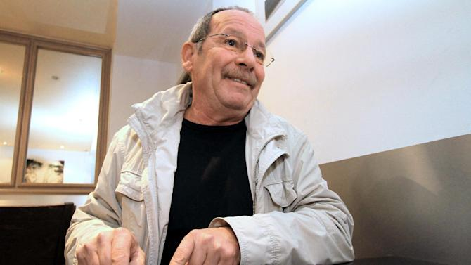 In this Dec. 10, 2012, photo, Dominique Bianchi, a former nationalist leader who recently stepped down as mayor of the southern village of Villanova, speaks about crime during an interview with the Associated Press in Ajaccio, Corsica, France. Of the 85 gangland killings and attempted assassinations in Corsica in the past eight years, only one case _ a plot against a former nationalist turned president of the local soccer club _ has ended in conviction. (AP Photo/Jean-Pierre Belzit)