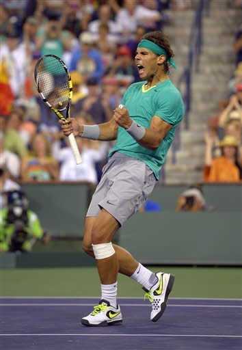 Djokovic, Nadal, Federer win at Indian Wells