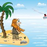 Feeling Adrift? Try Online Forums for Small Business Advice image guy on island 150x150