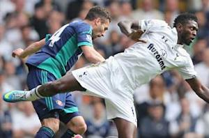 Tottenham striker Defoe hopeful of Adebayor return