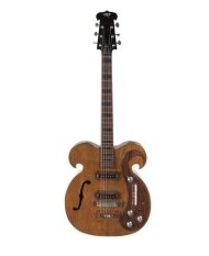 "A VOX custom-made guitar played by both John Lennon and George Harrison of The Beatles is pictured in this undated handout obtained by Reuters March 20, 2013. The electric guitar, played by Lennon and Harrison during the Beatles' ""Magical Mystery Tour"" era, is expected to fetch $200,000 - $300,000 at auction in May, Julien's Auctions said. REUTERS/Julien's Auctions/Handout"