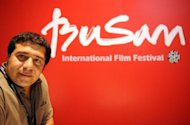 Iranian documentary director Kamran Heidari at the 17th Busan International Film Festival (BIFF) in Busan. Heidari brought compatriot and film maker Negahdar Jamali&#39;s documentary to the festival entitled &#39;My Name Is Negahdar Jamali And I Make Westerns&#39;, which made its world premiere at the festival