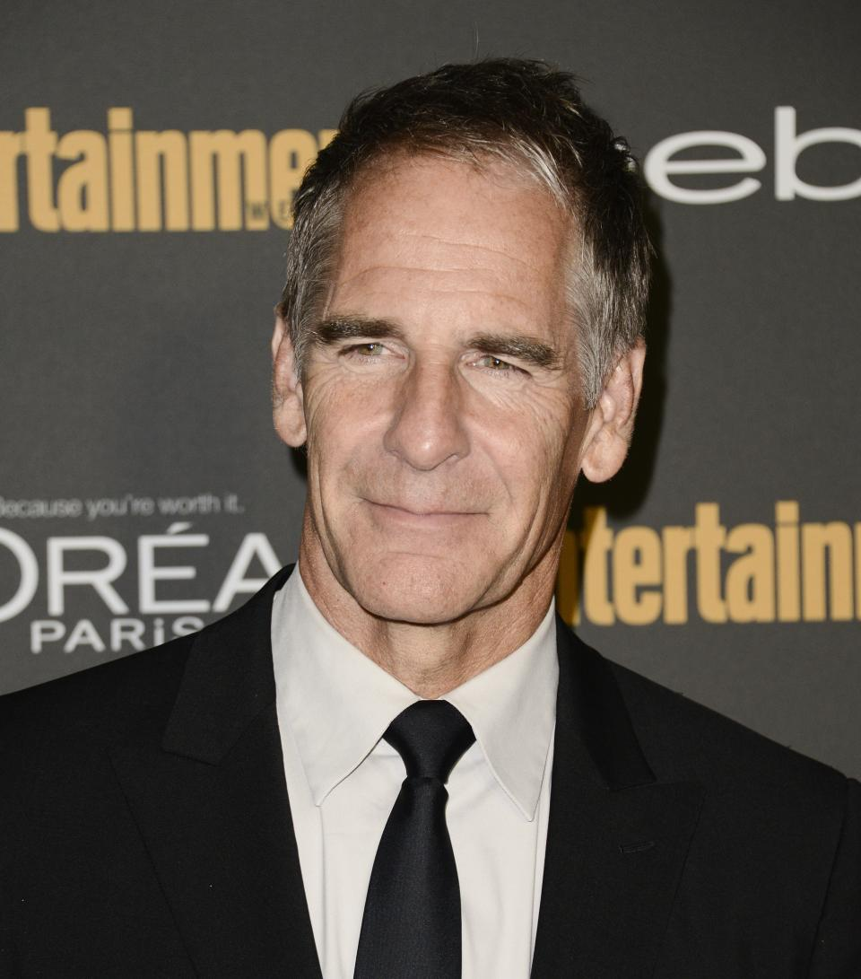 Actor and Emmy nominee Scott Bakula arrives at the 2013 Entertainment Weekly Pre-Emmy Party at Fig & Olive on Friday, Sept. 20, 2013 in Los Angeles. (Photo by Dan Steinberg/Invision/AP)