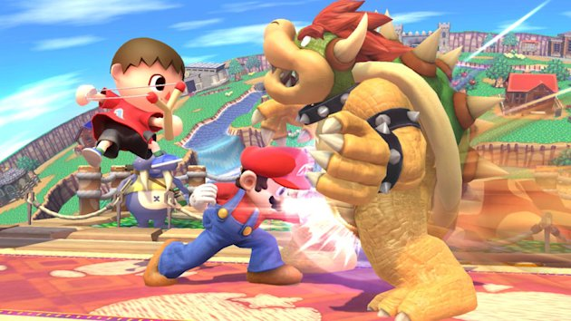 The Wii U version of Super Smash Bros. is one of the system's upcoming big exclusives.