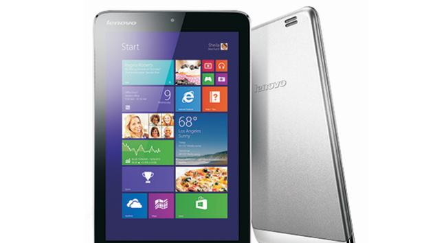 Lenovo unveils its first 8-inch Windows 8.1 tablet, available later this month for $299