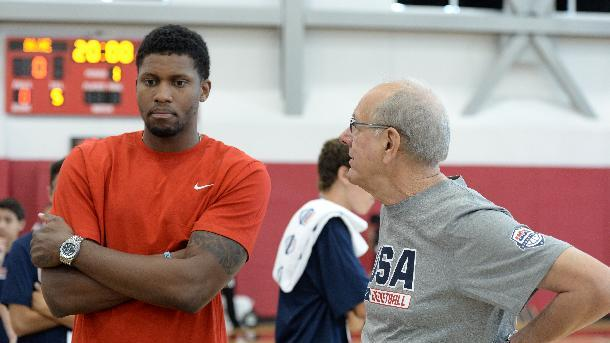 US basketball team adds Rudy Gay to roster
