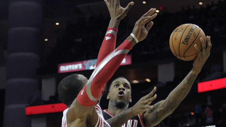 Rockets end Blazers' streak with 126-113 win