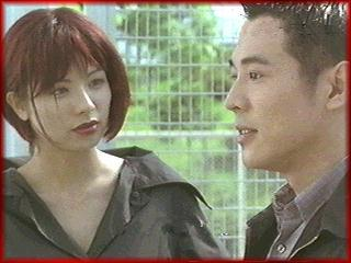 Francoise Yip and Jet Li in Black Mask