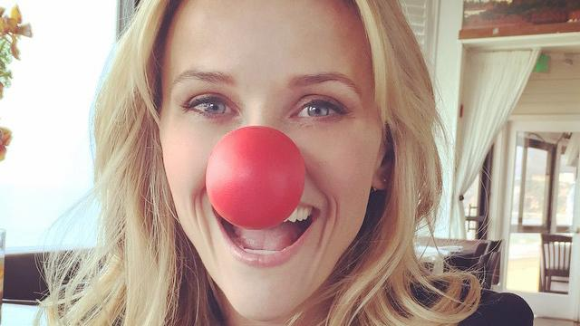Reese Witherspoon, Neil Patrick Harris Among Celebs Supporting 'Red Nose Day'