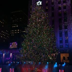 Rockefeller Center Christmas Tree Lights Up