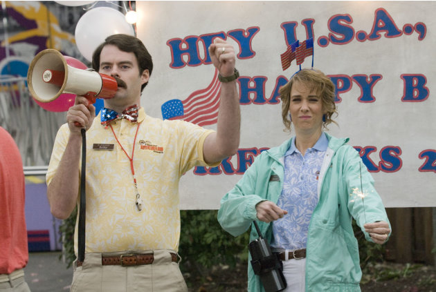 Bill Hader Kristen Wiig Adventureland Production Stills Miramax 2009