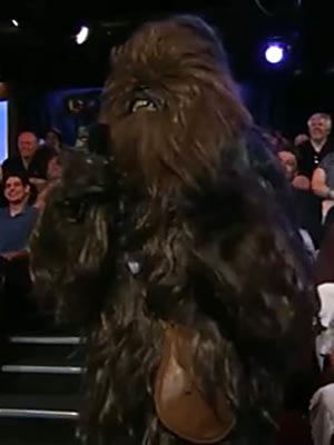 Chewbacca on 'Jimmy Kimmel Live'