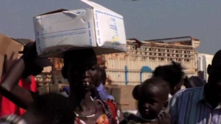 Food reaches South Sudan civilians