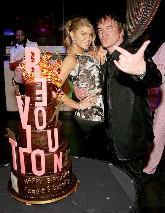 Fergie Tarantino Bday Prty