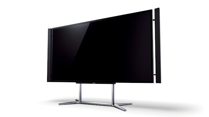 This undated image provided by Sony shows an  ultra-HD '4K' TV  set. High-definition TVs roughly quadrupled the resolution of the sets that came before them. Now, the industry is poised to do it again as Sony says its U.S. stores will, by December, sell a TV set with four tims the resolution of today's best HDTVs.  (AP Photo/Sony)