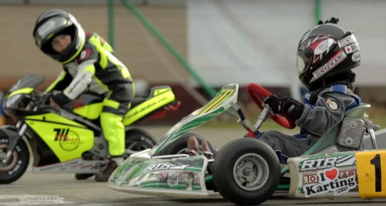 Just a Cute Video Of Baby Racers to End the Week